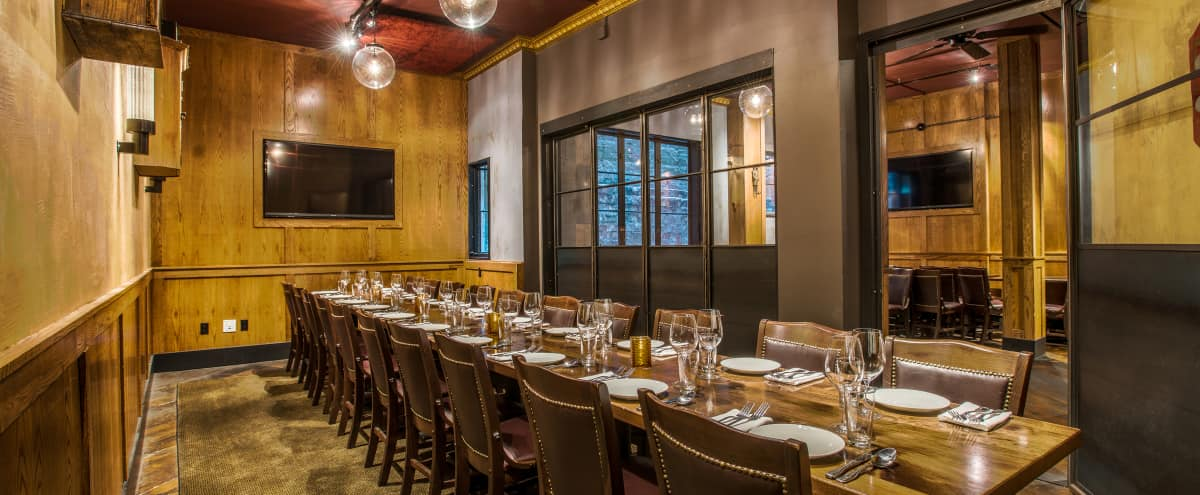 Intimate Private Dining + Reception Room in Union Square in San Francisco Hero Image in Tenderloin, San Francisco, CA