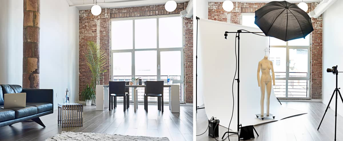Airy Studio/ Casting/ Event space in Dumbo in Brooklyn Hero Image in Vinegar Hill, Brooklyn, NY