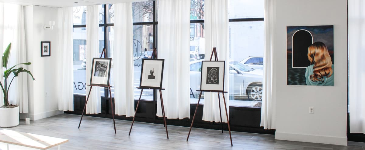 Modern and Clean Art & Yoga Studio in Long Island City Hero Image in Dutch Kills, Long Island City, NY
