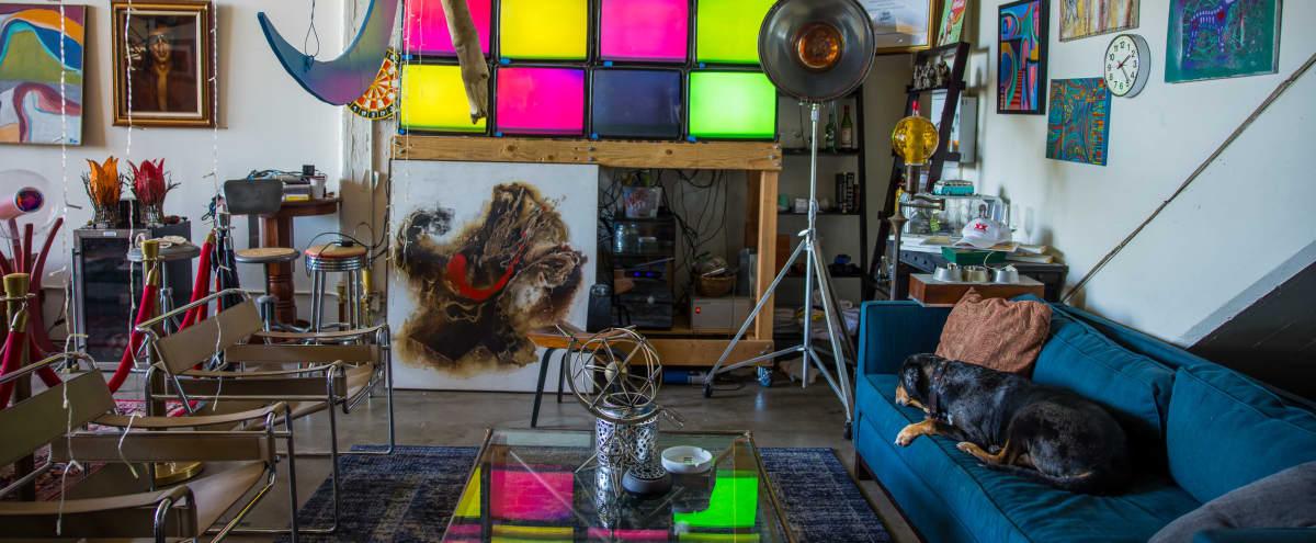 Eclectic Industrial Loft in Urban Oakland in Oakland Hero Image in Coliseum Industrial, Oakland, CA