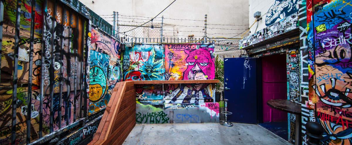 Spacious Downtown Outdoor Event Space & Indoor Bar in Los Angeles Hero Image in Central LA, Los Angeles, CA