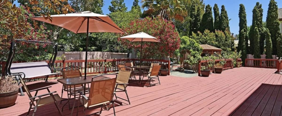 Spacious Backyard with Deck and Gazebo in Suisun City Hero Image in undefined, Suisun City, CA
