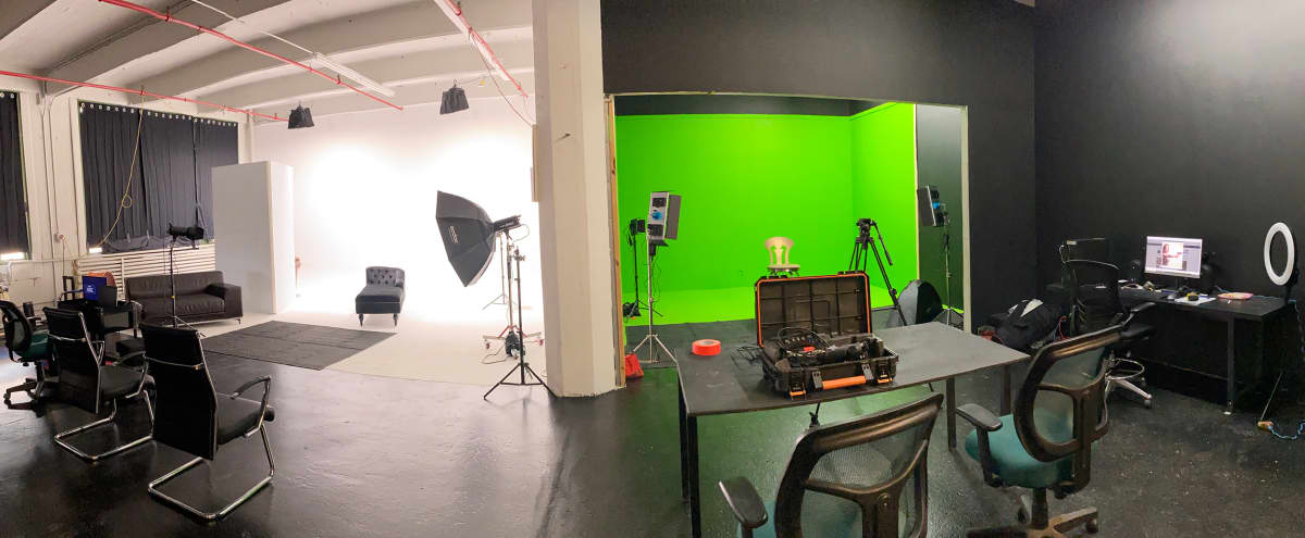 Film and Photo Production Studio with CYC Wall & Green Screen in Brooklyn Hero Image in Sunset Park, Brooklyn, NY