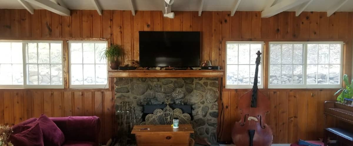 1920's Rustic Ranch Home with Old Oak Arbor in Tujunga Hero Image in Tujunga, Tujunga, CA