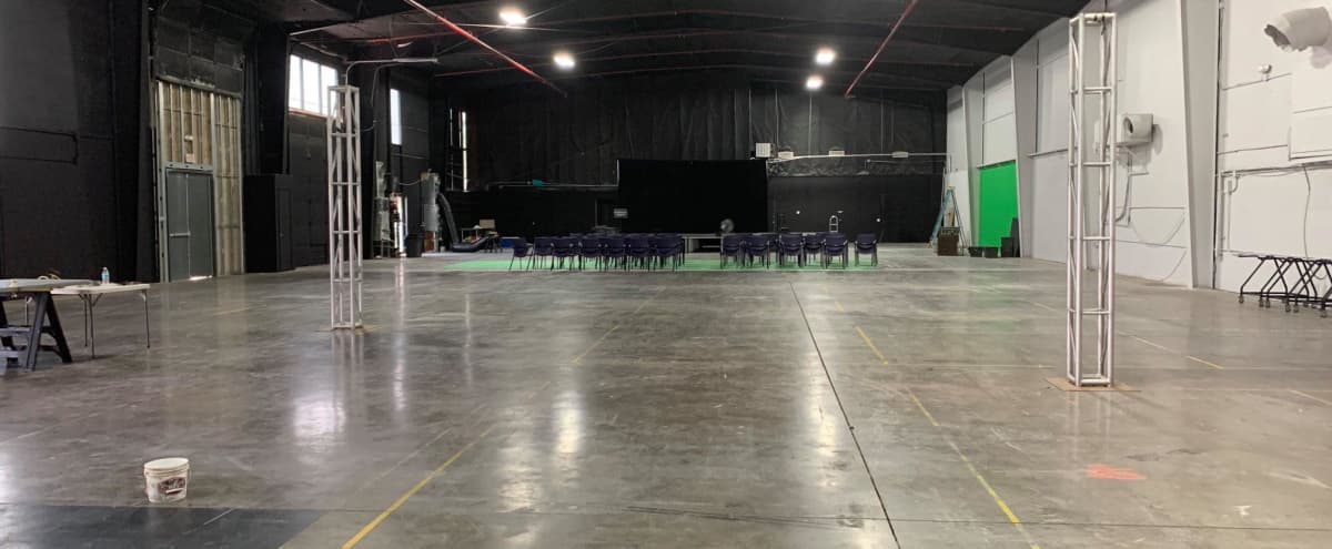 Scottsdale Studios Sound Stage and Green Screen in Scottsdale Studios Hero Image in McCormick Ranch Industrial Center, Scottsdale Studios, AZ
