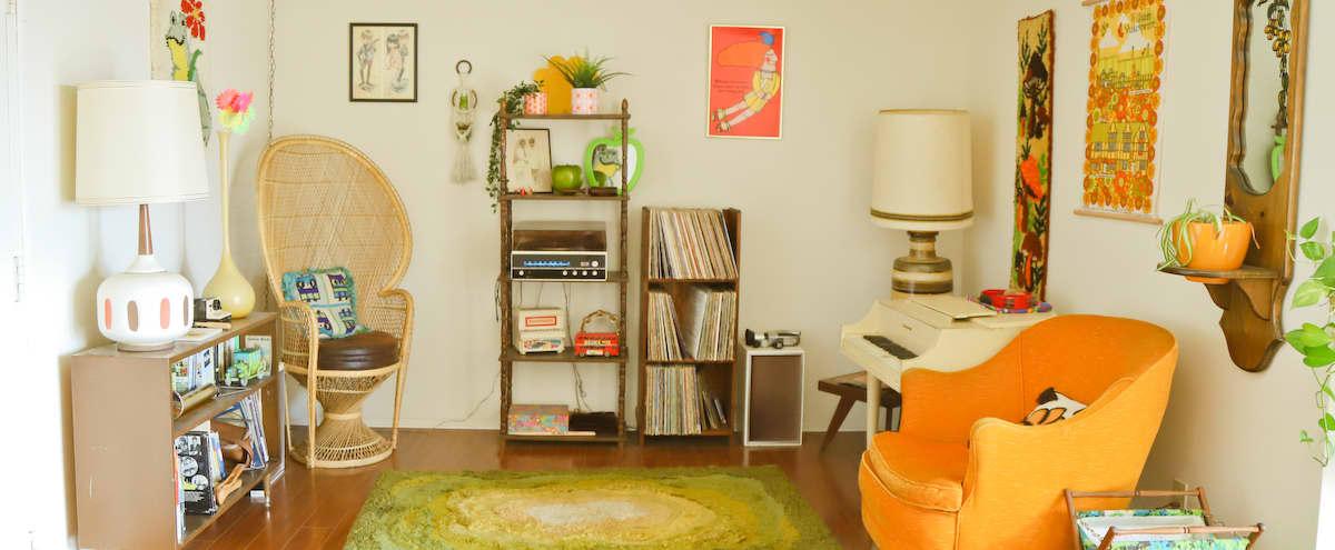 1970s Vintage Sunny Echo Park Home 60s Retro Style
