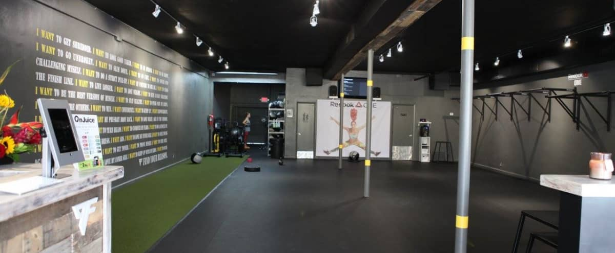 Spacious Open Floor Fitness Studio in Ft Lauderdale Hero Image in Flagler Village, Ft Lauderdale, FL