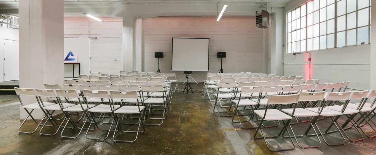 Versatile 1st Floor Warehouse Meeting Space in SOMA in San Francisco Hero Image in South of Market, San Francisco, CA