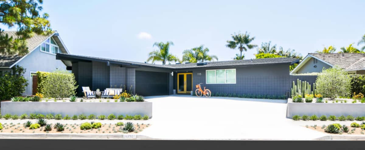 sunny, spacious and playful renovated coastal Mid Century Modern in Newport Beach Hero Image in undefined, Newport Beach, CA