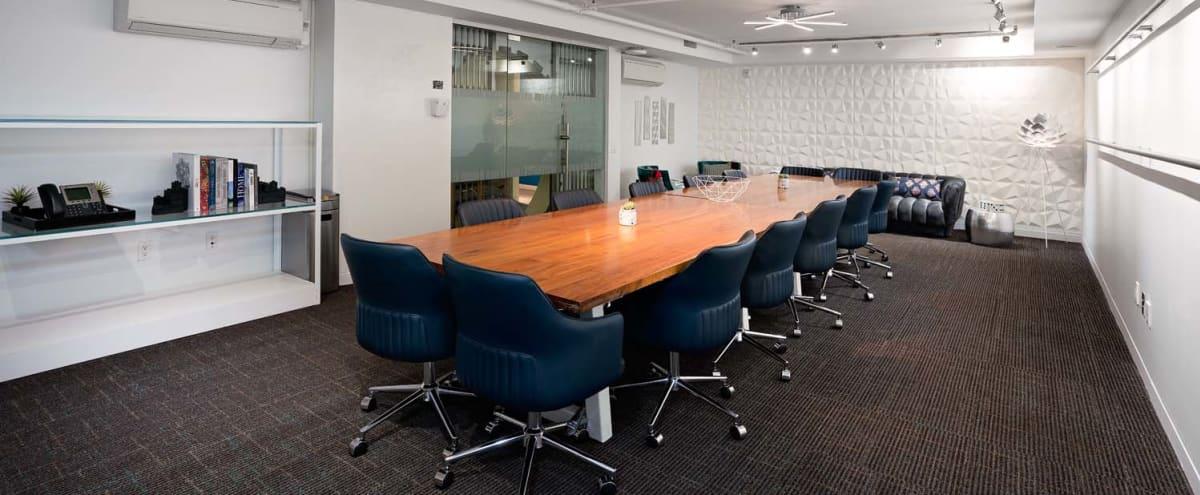Vault Boardroom in Midtown Manhattan - Seats up to 25 in New York Hero Image in Midtown Manhattan, New York, NY