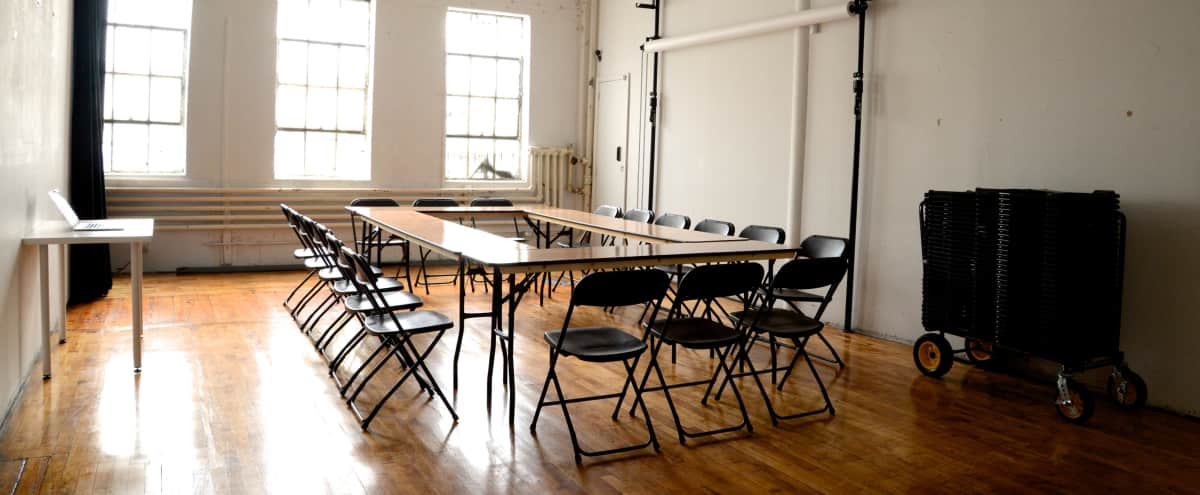 Bushwick Meeting/Workshop Place! (inc. projector & screen) in Brooklyn Hero Image in Bushwick, Brooklyn, NY