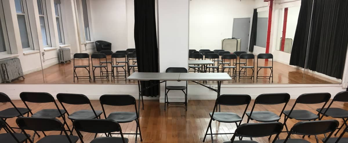 Affordable 1,350 Sq Ft Meeting & Event Space in new york Hero Image in Midtown, new york, NY