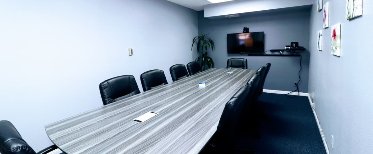 Private Riverside Meeting Room for Up To 12 with Videoconferencing in Riverside Hero Image in Presidential Park, Riverside, CA