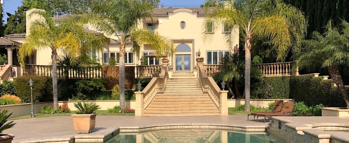 Mediterranean Villa Style Backyard! in Pasadena Hero Image in undefined, Pasadena, CA