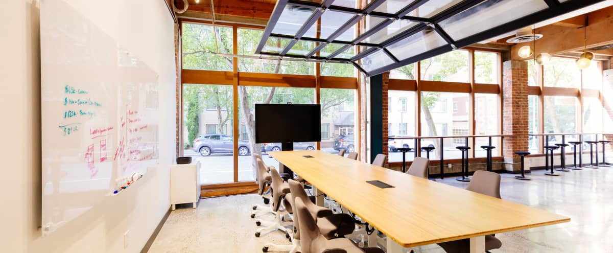 Stunning Event Space with Exposed Brick and High Ceilings in Belltown in Seattle Hero Image in Belltown, Seattle, WA
