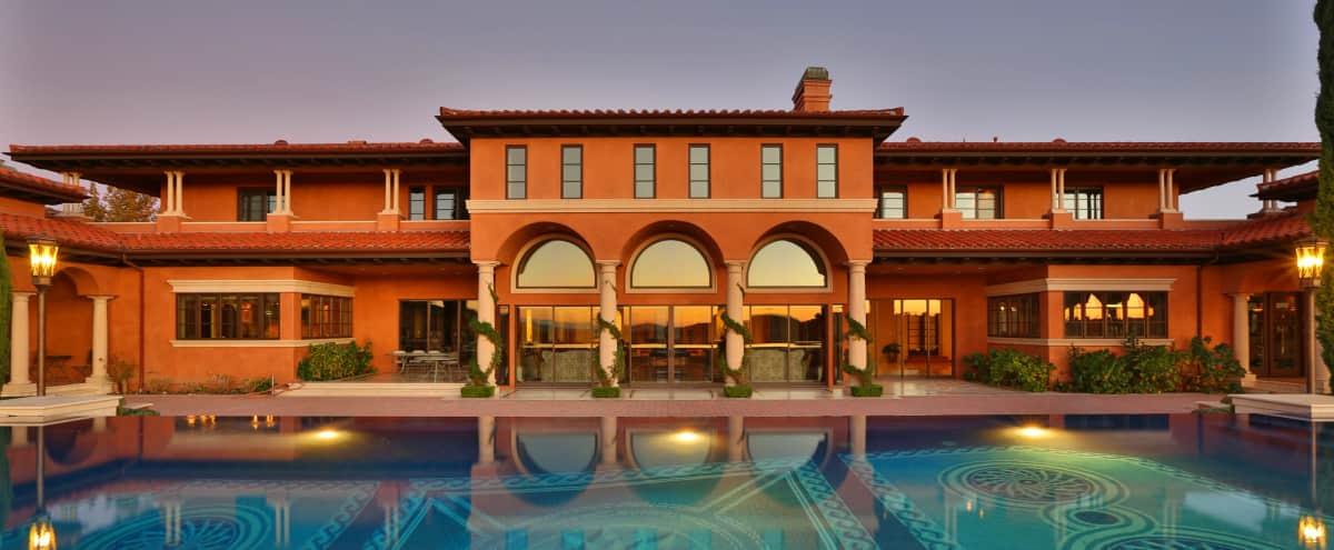 Venetian-style Calabasas Mansion in Calabasas Hero Image in The Oaks, Calabasas, CA