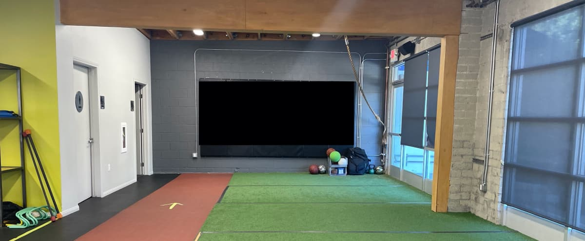Large Fitness Studio Space with Private Parking in Glendale Hero Image in Montecito Park, Glendale, CA