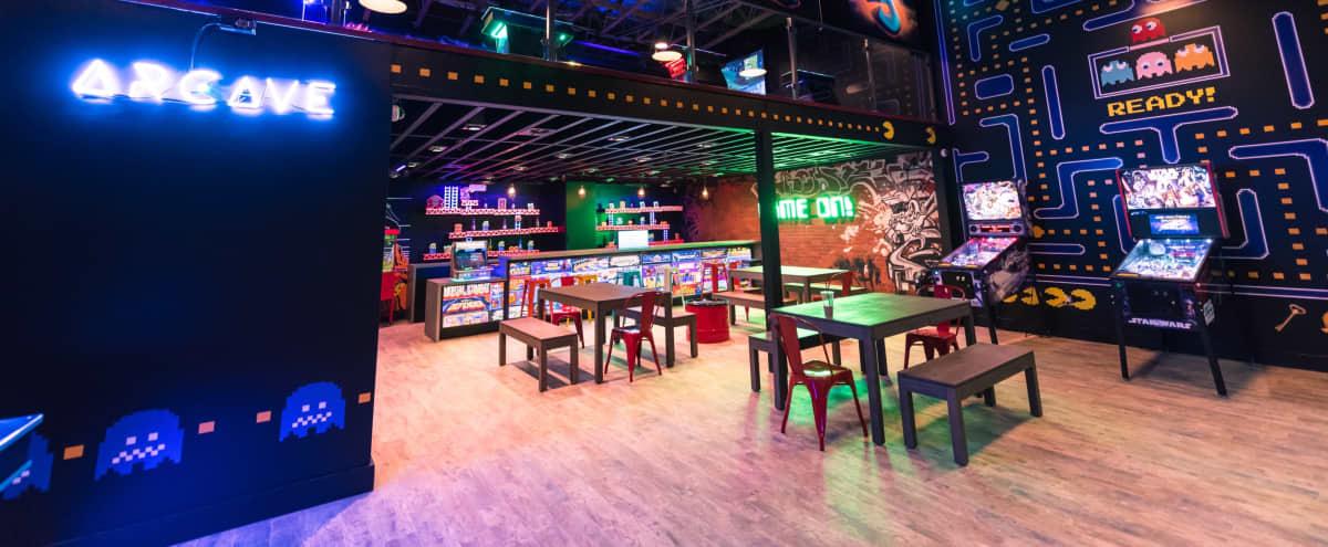 Retro gaming arcade venue for all occasions