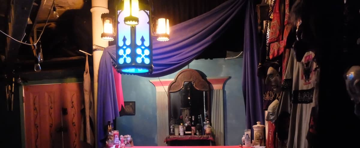 Theatrical Artist's Loft with Bar! in Brooklyn Hero Image in Park Slope, Brooklyn, NY