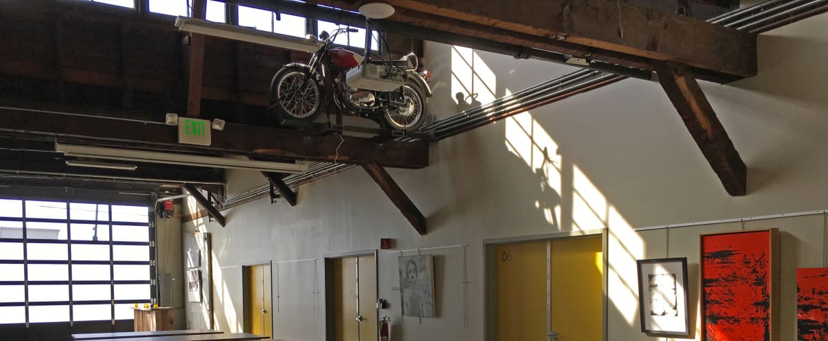 Historic Industrial Arts Space in Oakland Hero Image in Hawthorne, Oakland, CA