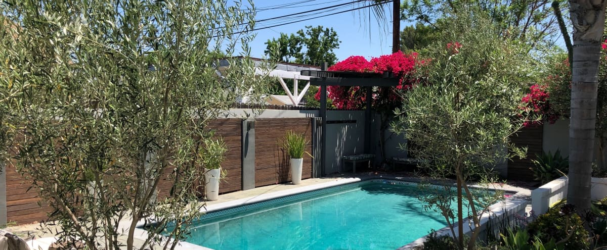 Encino Home with a beautiful pool and garden in Encino Hero Image in Encino, Encino, CA