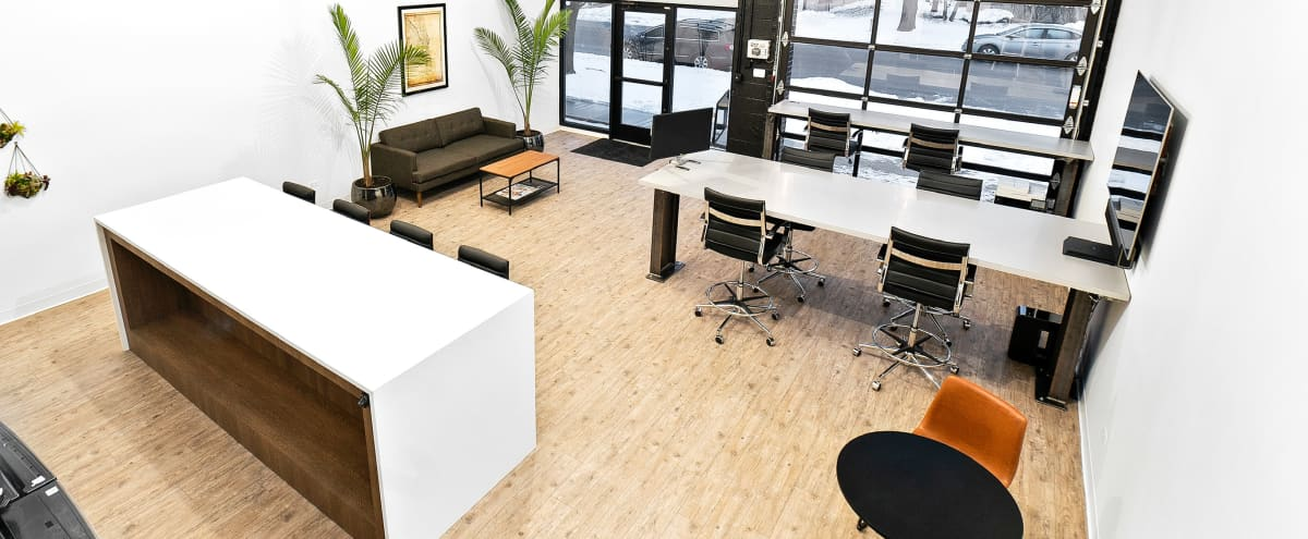 Modern/ Industrial + Versatile Meeting/ Entertaining Space with Lounge & Kitchen in Schaumburg Hero Image in undefined, Schaumburg, IL
