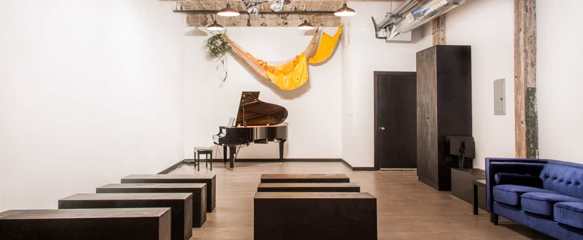 Greenpoint, ground floor loft and art/music venue in Brooklyn Hero Image in Greenpoint, Brooklyn, NY