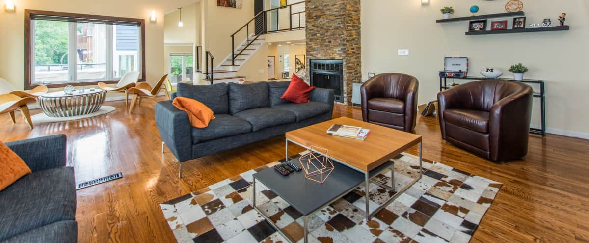 Contemporary Home - 25 Min From NYC in South Orange Hero Image in undefined, South Orange, NJ