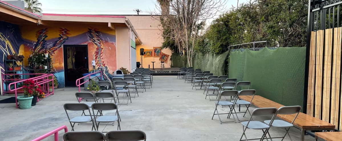 Patio - includes an Outdoor Stage & Small Kitchen facility. in North Hollywood Hero Image in North Hollywood, North Hollywood, CA