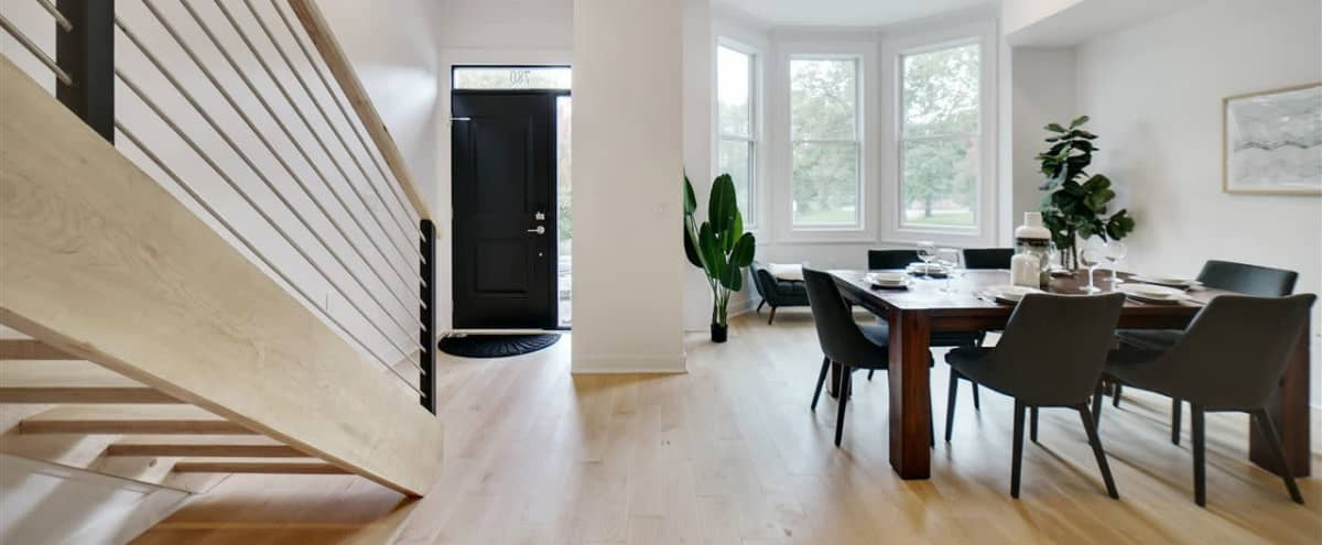 Contemporary Brownstone with Park Views in Jersey City Hero Image in Bergen-Lafayette, Jersey City, NJ