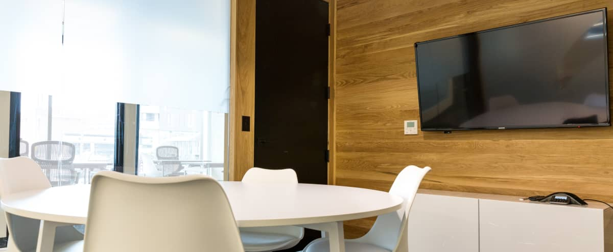 4 Person Meeting Room | M1 in Portland Hero Image in Kerns, Portland, OR