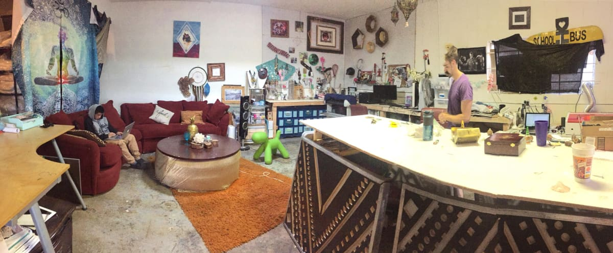 Magical Creative Warehouse with Large Industrial Lot in San Diego Hero Image in Morena, San Diego, CA