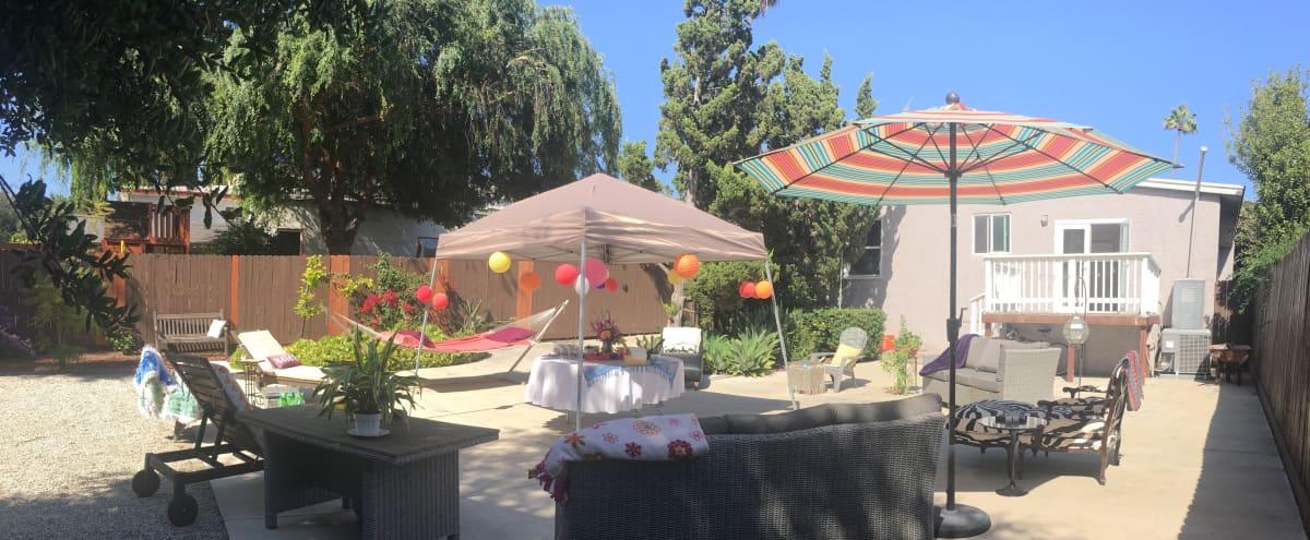 Spacious urban backyard near Rose Bowl in Pasadena Hero Image in North Central, Pasadena, CA