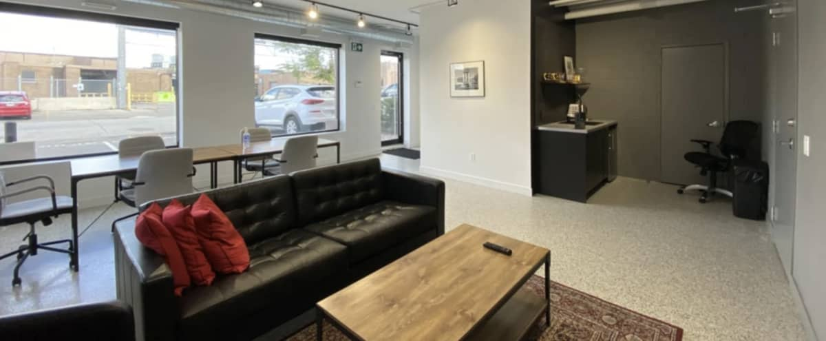 Lounge w/ Multiple Seating Areas + Natural Light in Toronto Hero Image in The Junction, Toronto, ON