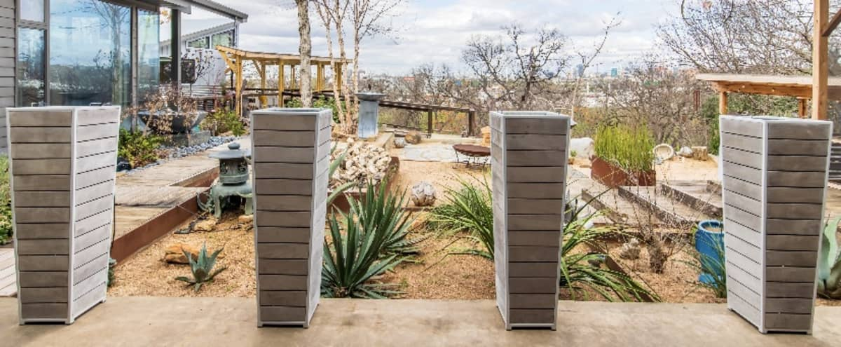 Sanctuary Garden Oasis with Downtown Views in Dallas Hero Image in Oak Cliff, Dallas, TX