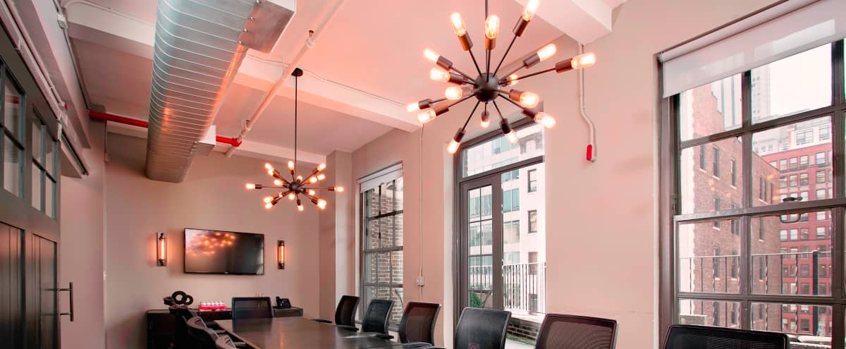 Creative & Professional Board Room with Private Balcony in New York Hero Image in Midtown, New York, NY