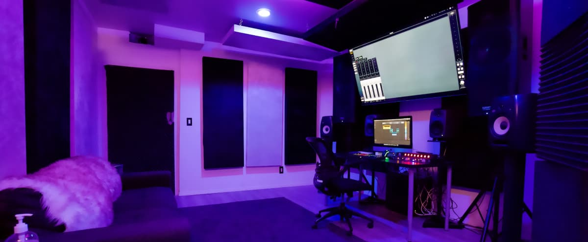 Stunning Hollywood Recording Studio in Los Angeles Hero Image in Hollywood, Los Angeles, CA