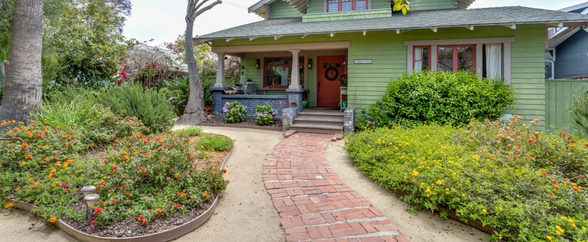 Beautiful Craftsman Home In Historic Ocean Park District of Santa Monica with music room and plenty of out door space. in SANTA MONICA Hero Image in Ocean Park, SANTA MONICA, CA