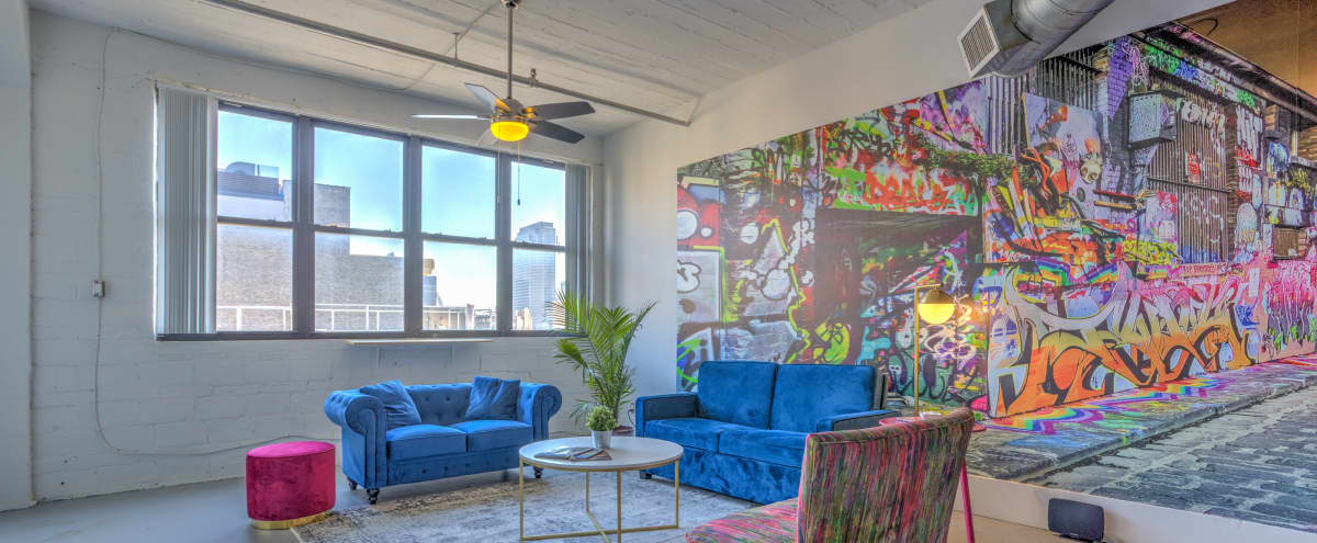 Ultra Chic Loft with City Museum Views in Saint Louis Hero Image in Downtown West, Saint Louis, MO