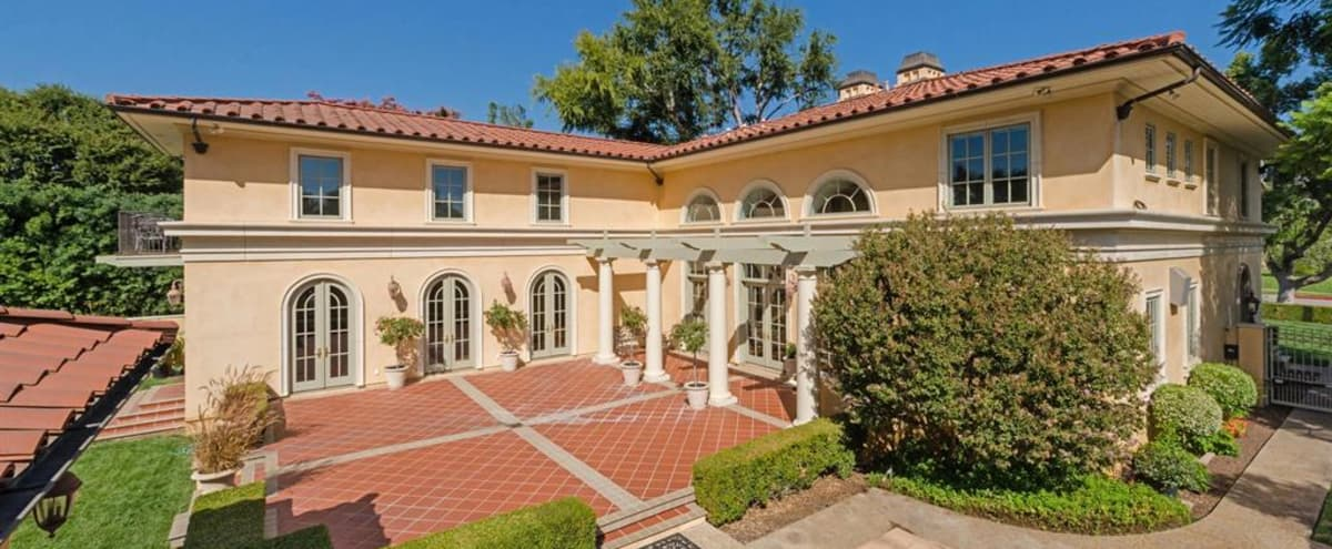 Beautiful 2 story Mediterranean Style Home with Pool, expansive backyard in Pasadena Hero Image in undefined, Pasadena, CA