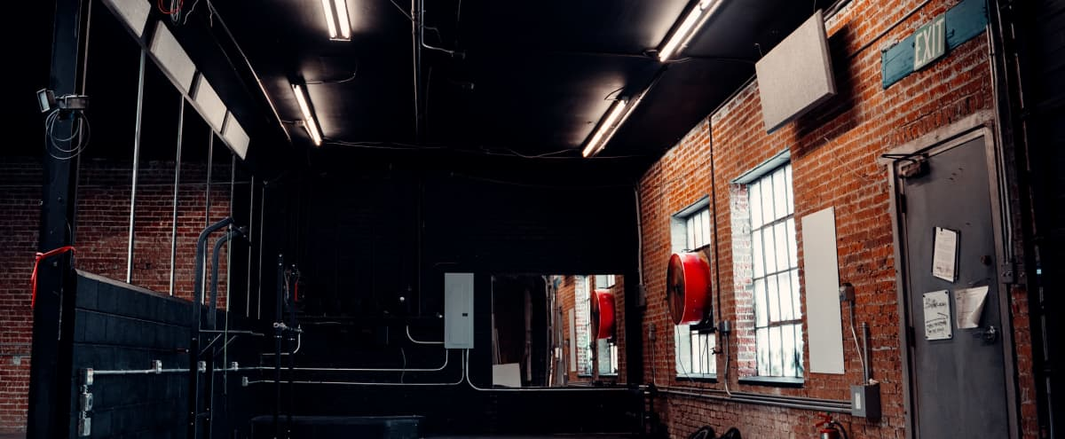 Grungy Industrial Warehouse Style Gym Studio in DENVER Hero Image in Five Points, DENVER, CO