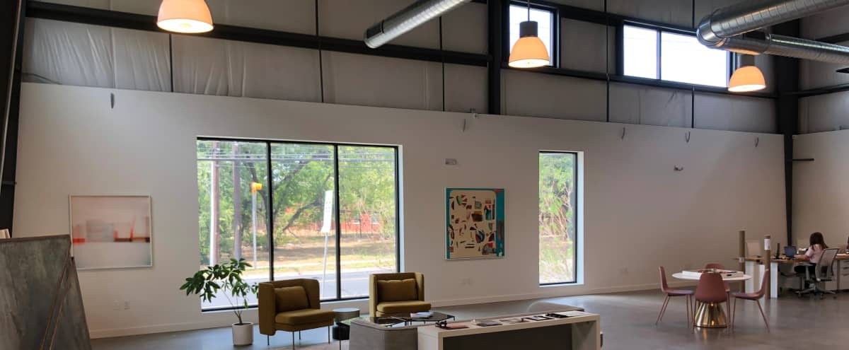 Light-Filled Art Gallery / Creative Office in Austin Hero Image in MLK-183, Austin, TX