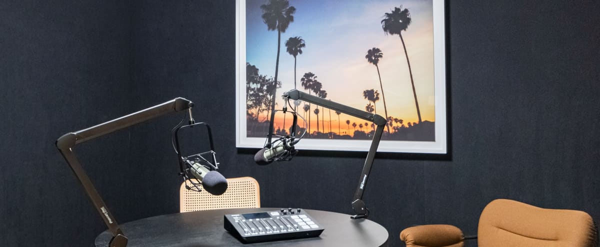 Comfortable podcast studio with amenities in heart of Beverly Hills in Beverly Hills Hero Image in undefined, Beverly Hills, CA