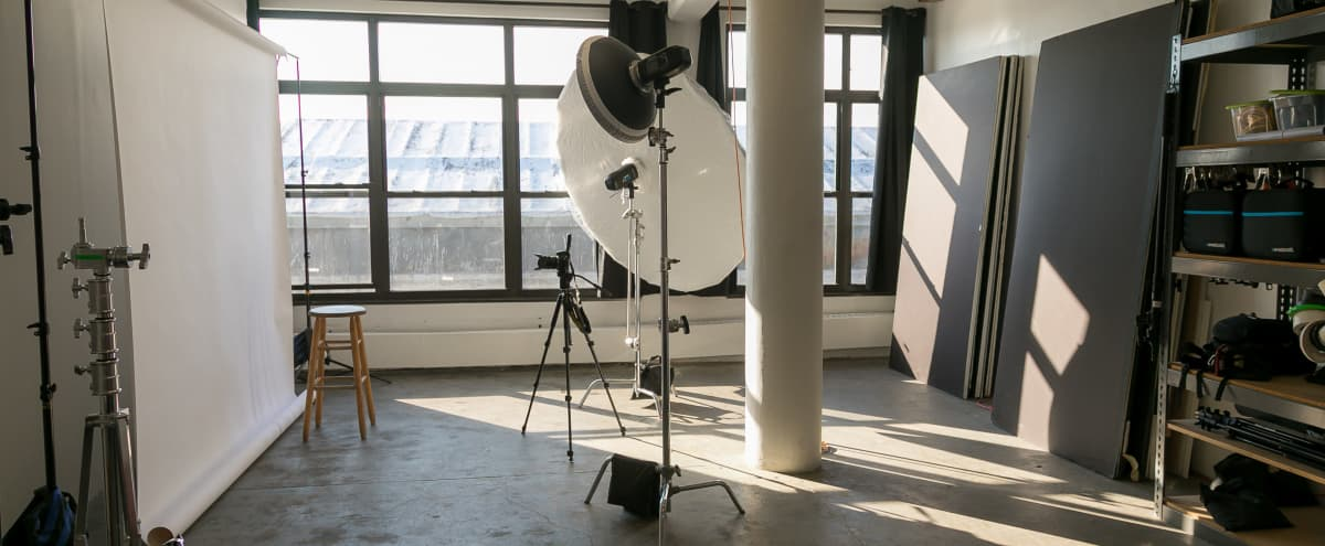 Daylight Photo and Video Studio in Bedstuy in Brooklyn Hero Image in Bedford-Stuyvesant, Brooklyn, NY
