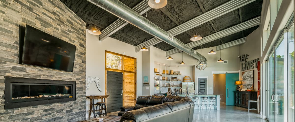 Retreat at Texas Hill Country Eclectic, Modern, & Chic Boutique Hotel in Dripping Springs Hero Image in undefined, Dripping Springs, TX
