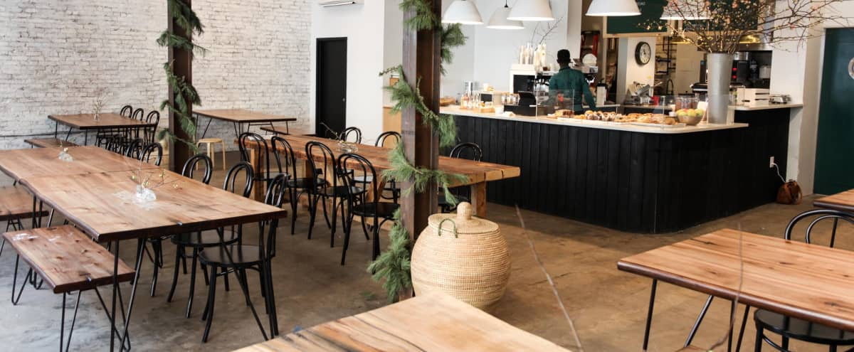 Cozy/ Industrial South Bronx Cafe + Kitchen in Bronx Hero Image in West Bronx, Bronx, NY