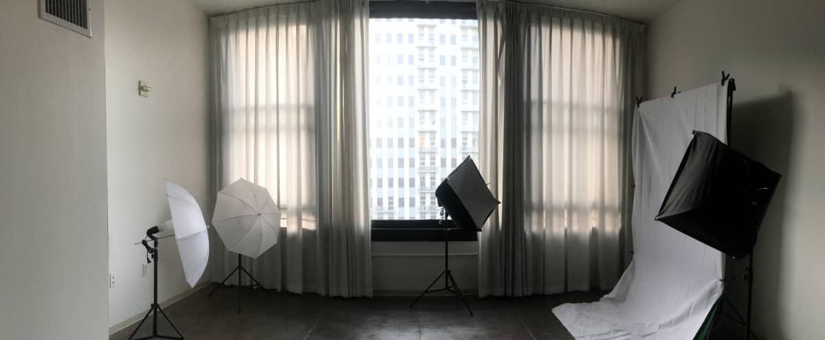 Downtown Studio Loft with City View in Los Angeles Hero Image in Central LA, Los Angeles, CA