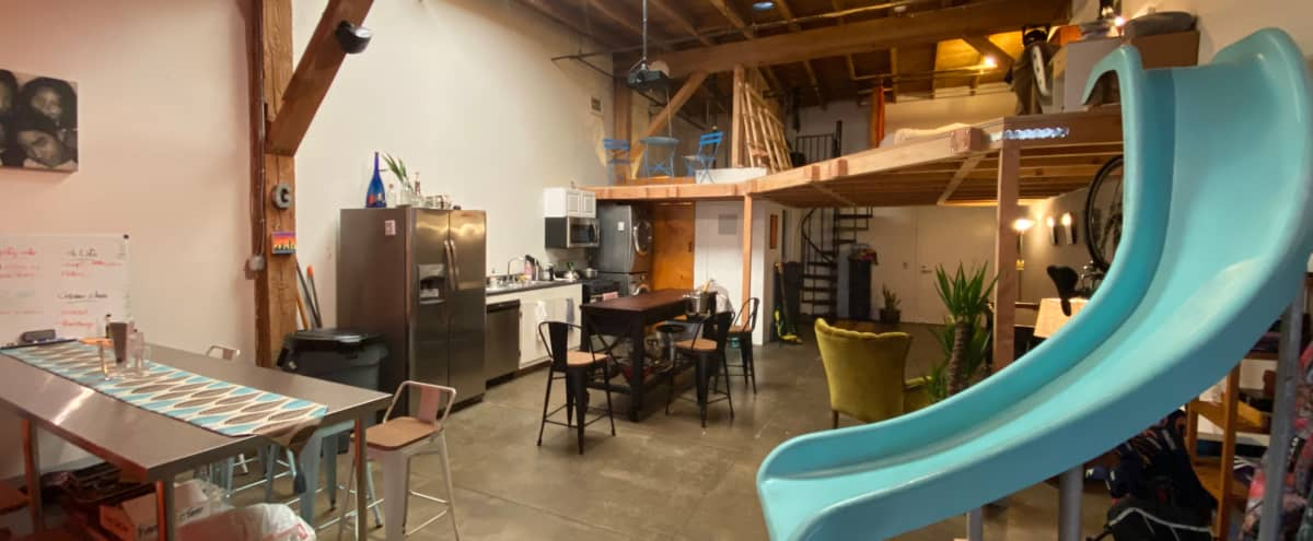 the Playroom: Industrial creative loft space for meetings in Vernon Hero Image in Fashion District, Vernon, CA