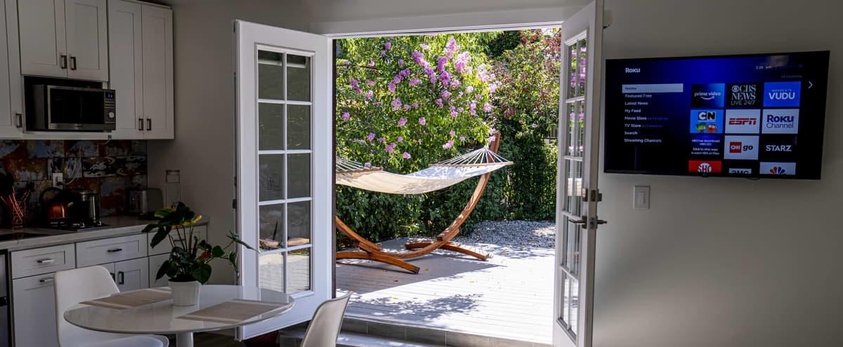New Studio Guesthouse & Outdoor Oasis in Best Part Pasadena in Pasadena Hero Image in Madison Heights, Pasadena, CA