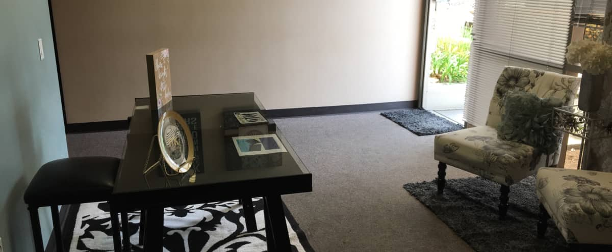Trendy and beautifully decorated office space, roomy with great WiFi, TV connection and plenty of parking! in Brea Hero Image in undefined, Brea, CA